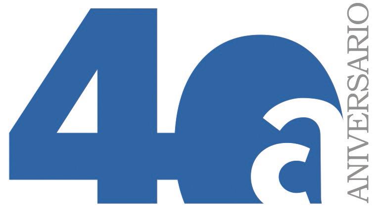 CAC Asprocon Crea Un Logo Conmemorativo Para Su 40o Aniversario
